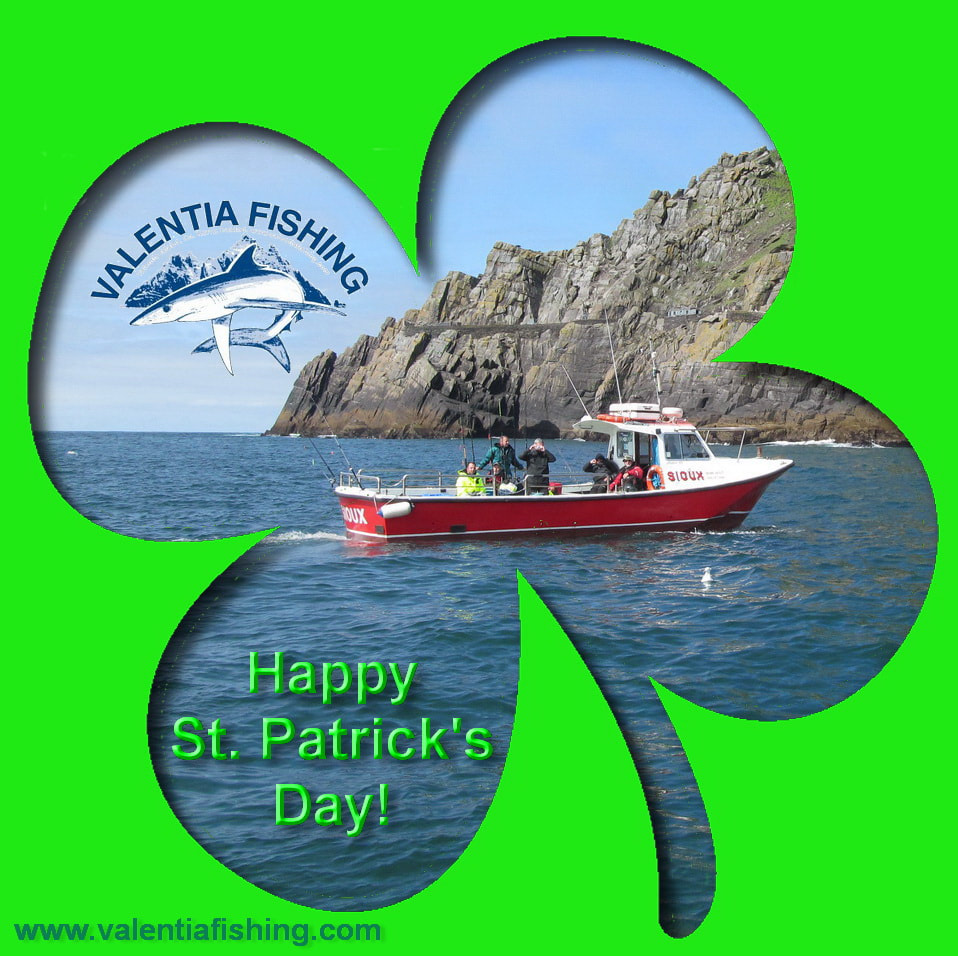 Valentia Fishing wünscht Happy St. Patrick's Day!